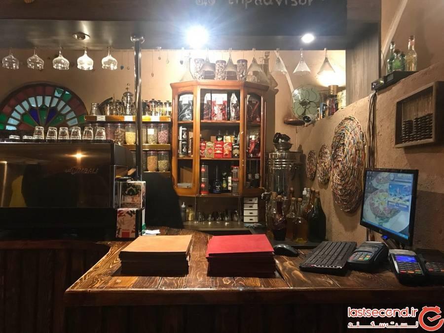 کافه و رستوران ایرانی قدیمی یزد