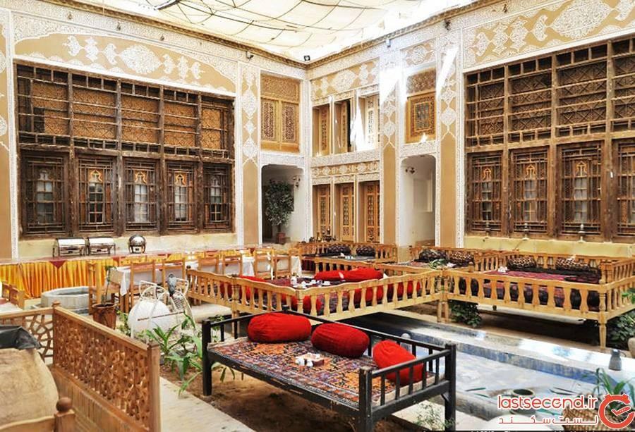 رستوران هتل ملک التجار یزد