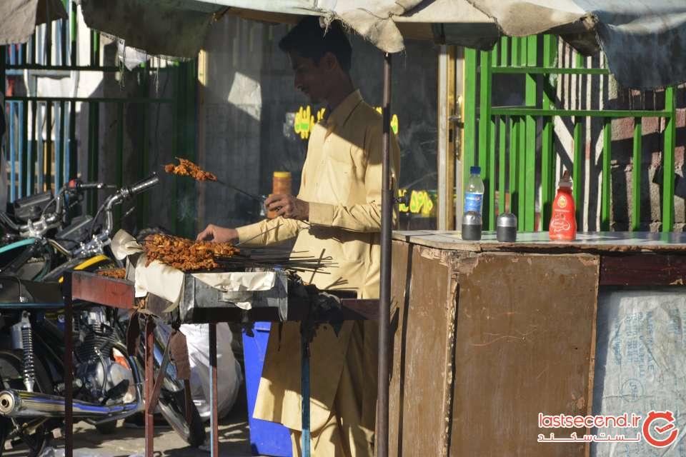 غذاهای خیابانی بافت قدیم چابهار