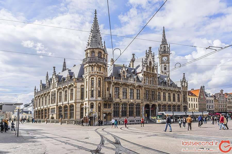 شهر خنت، بلژیک