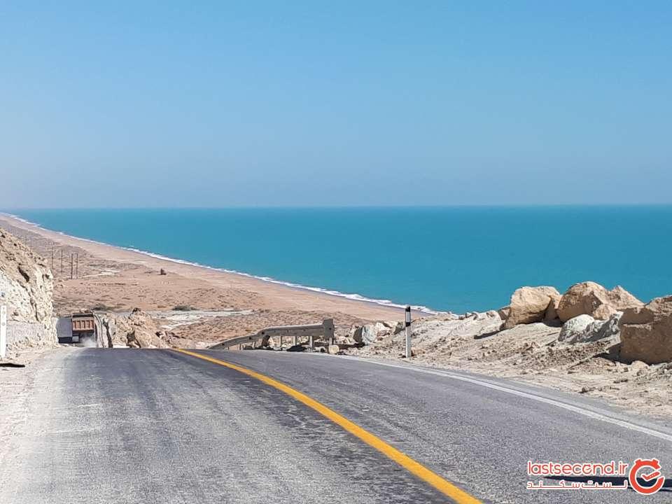 جاده زیبای گواتر به چابهار