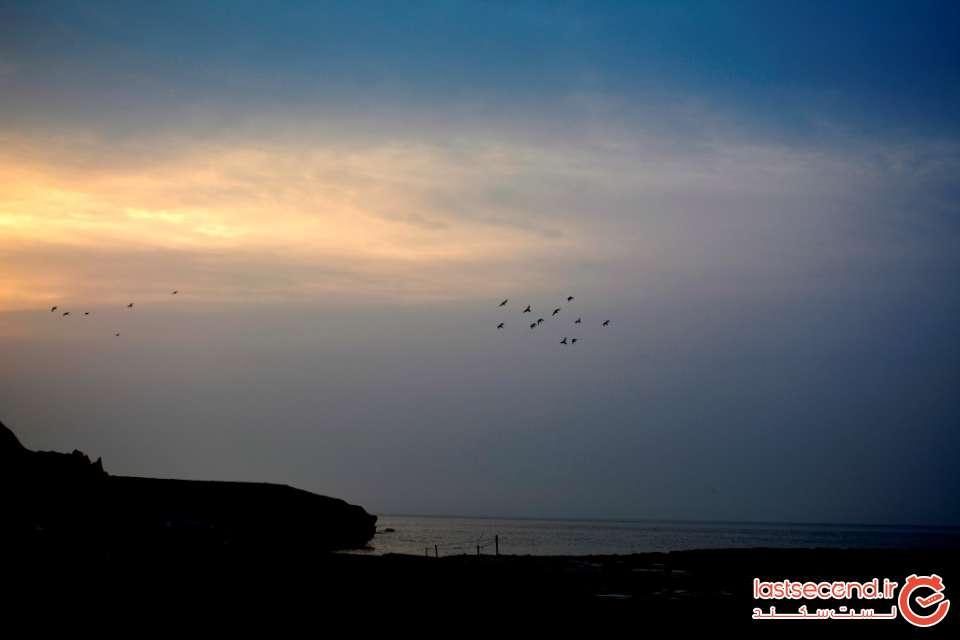 طلوع آفتاب در جزیره