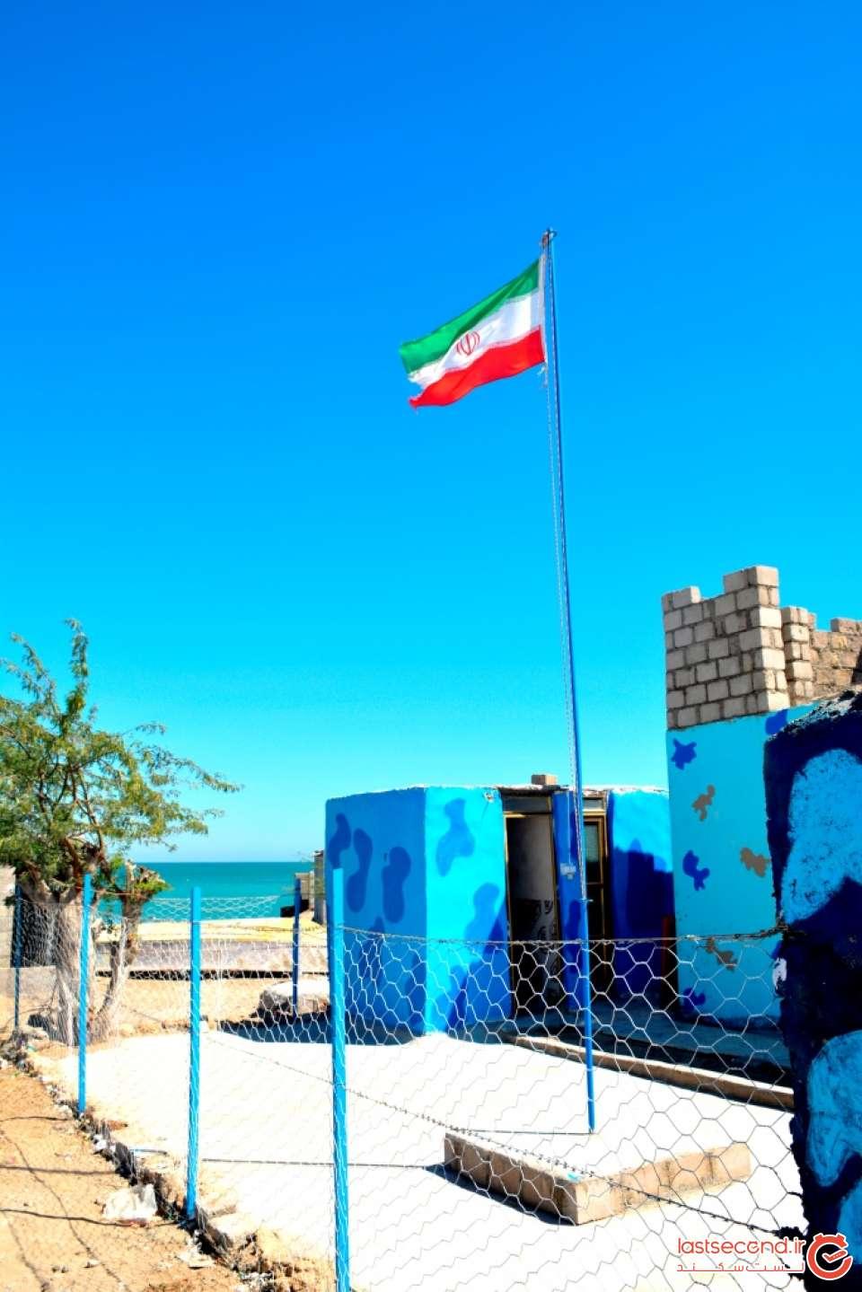 پاسگاه ایران در نقطه صفر مرزی