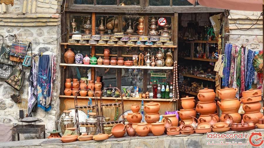 بازار محلی شهر قبله
