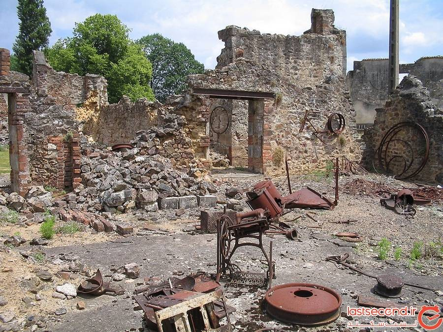 Oradour-sur-Glane massacre، فرانسه