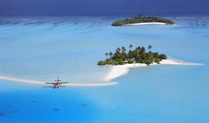 کشورهایی که بیشترین جزایر دنیا را دارند