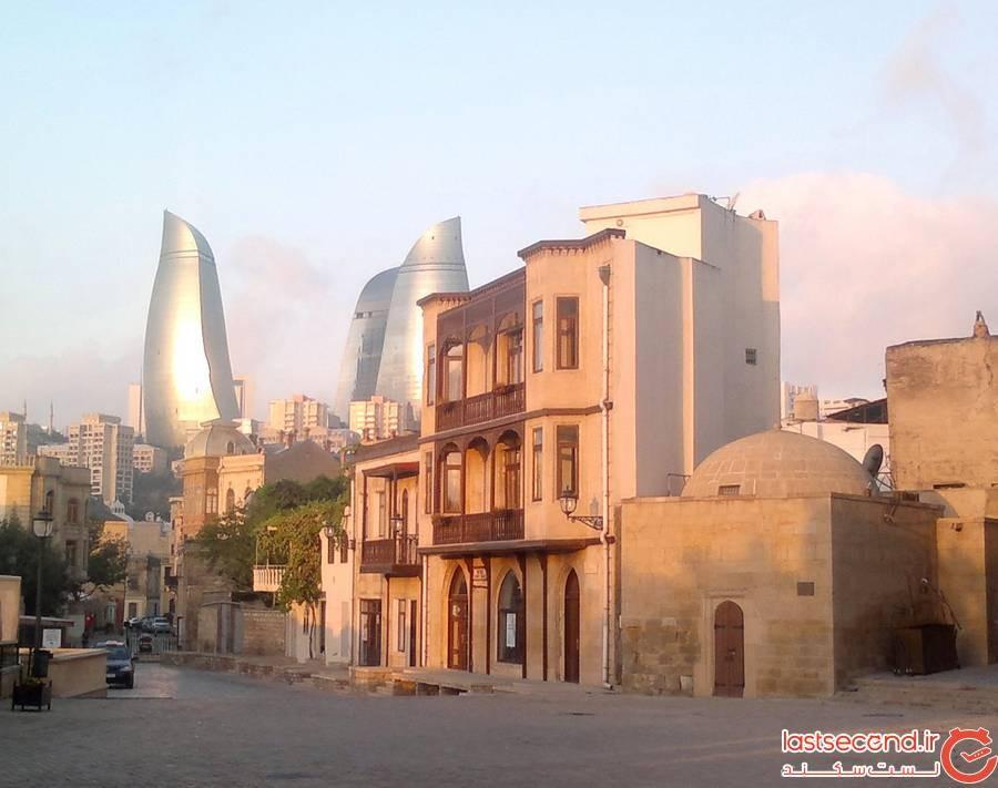بافت قدیمی شهر باکو