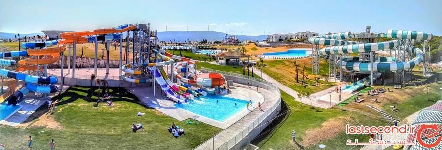 پارک آبی در شهر چشمه ترکیه