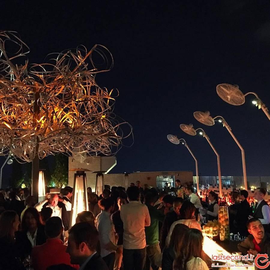 تفریح شبانه در شهر چشمه ترکیه