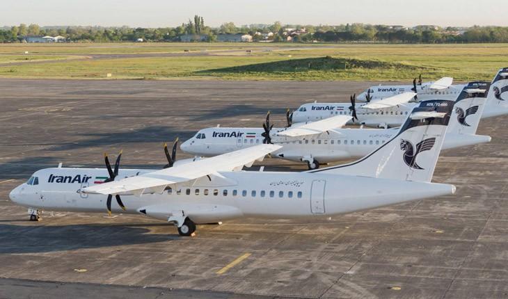 معرفی هواپیماهای جدید ATR وارد شده به ایران