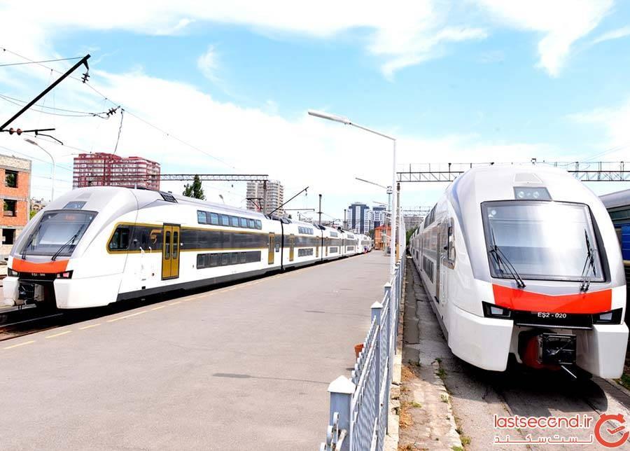 قطارهای داخلی جمهوری آذربایجان