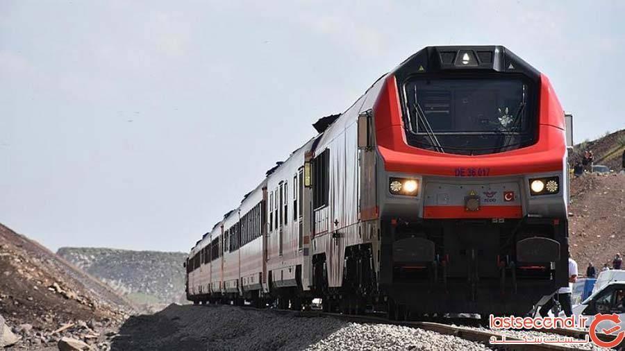 مسیر قطار به گرجستان