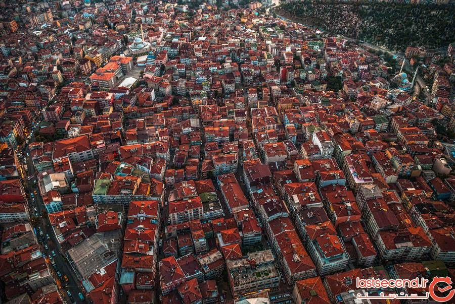 استانبول از نمای بالا