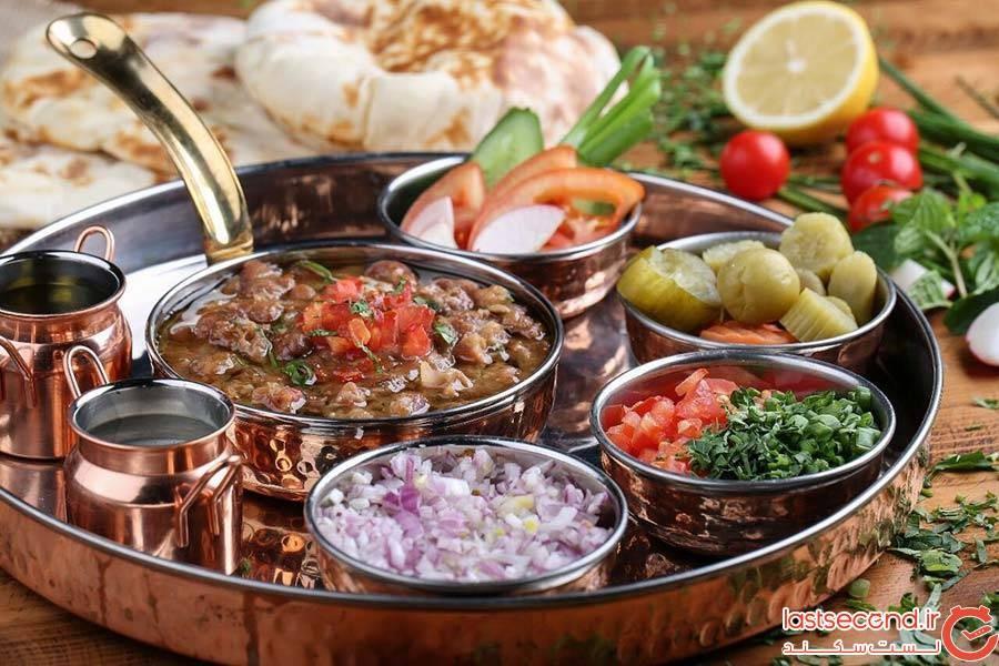 خوراک باقالی یا فول مداماس ( Foul meddamas)
