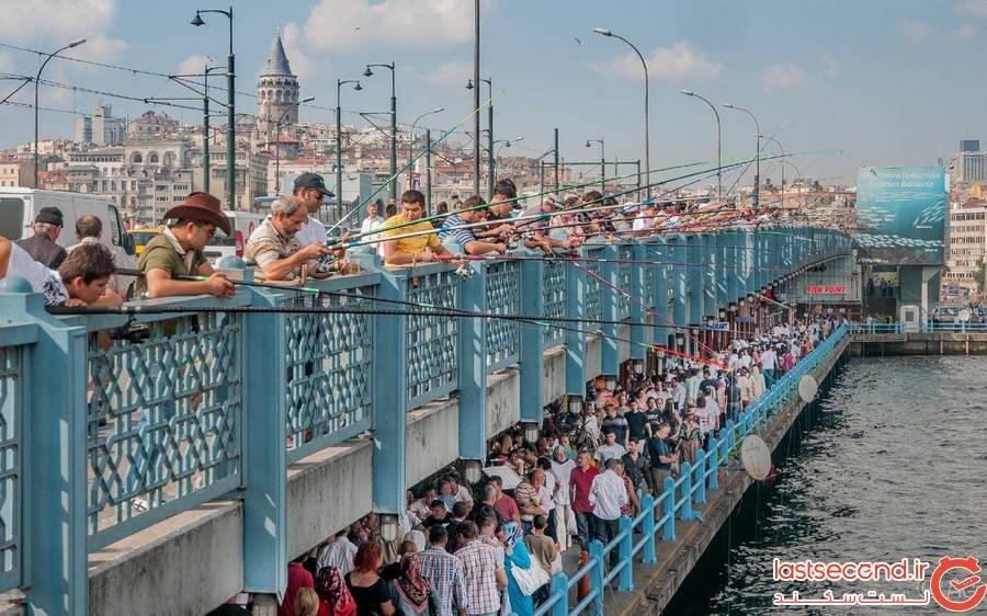 ماهیگیری در ایتانبول
