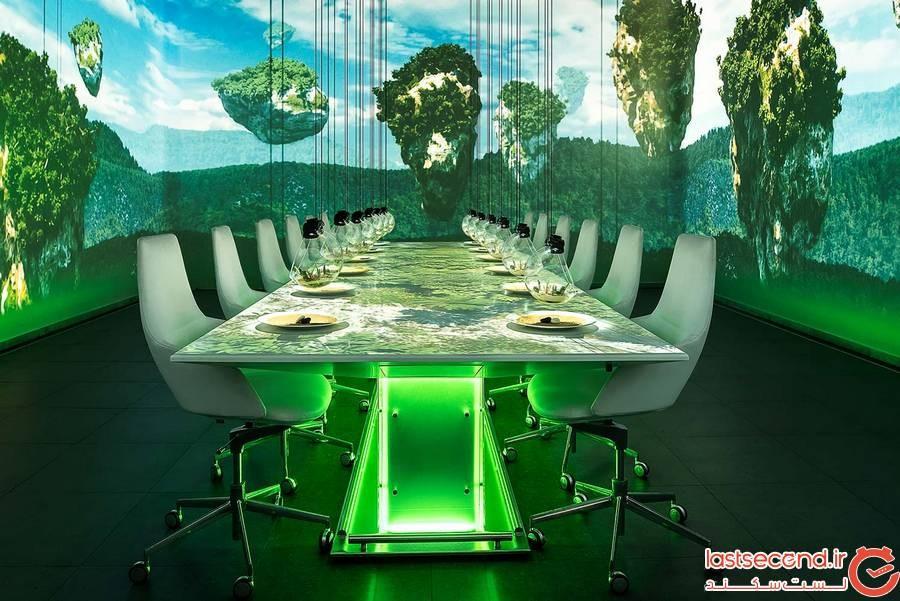 فضای داخلی گران ترین رستوران دنیا
