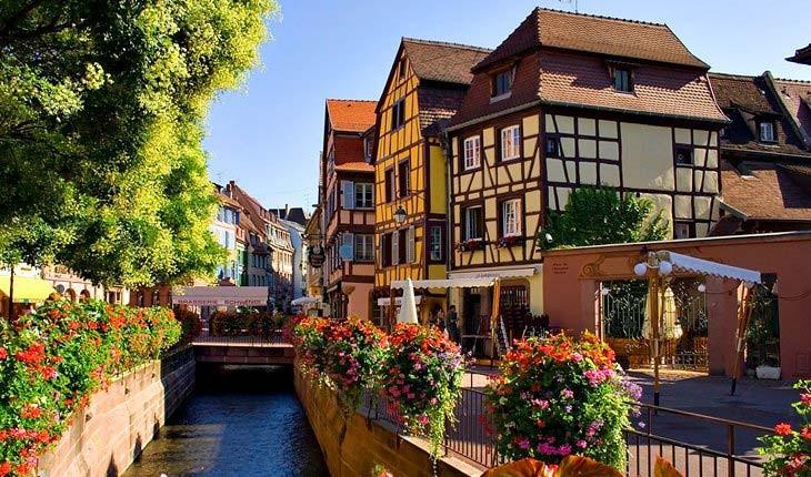 زیباترین روستاهای دنیا در فرانسه