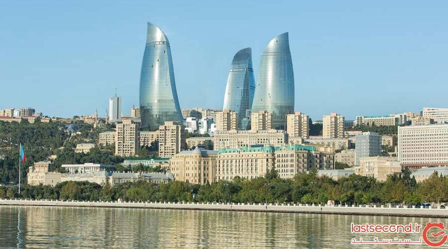 هتل فیرمونت باکو (Fairmont Baku Flame Towers)