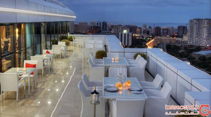 هتل قفقاز باکو (QafqaZ Baku City Hotel & Residences)