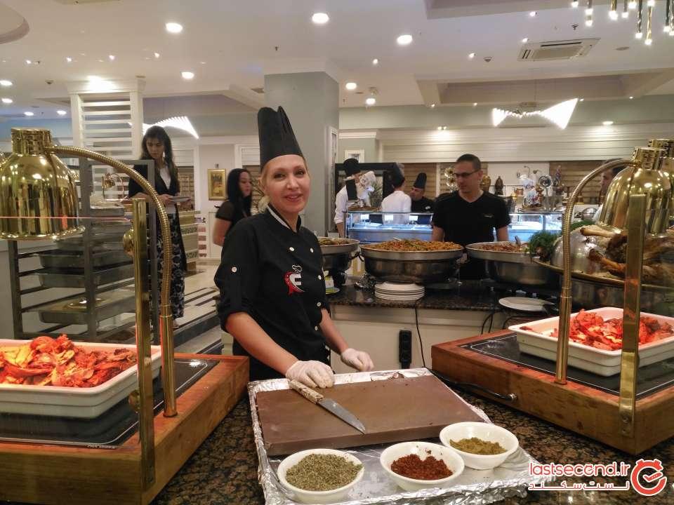 سرآشپز ايراني هتل ارنج کانتی آنتالیا
