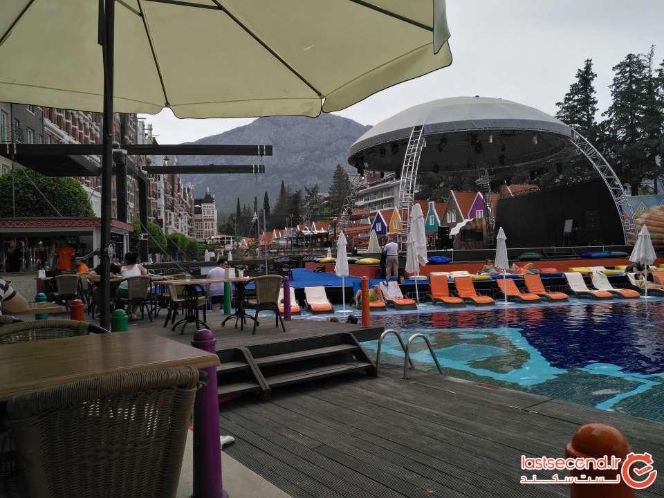 هتل ارنج کانتی آنتالیا