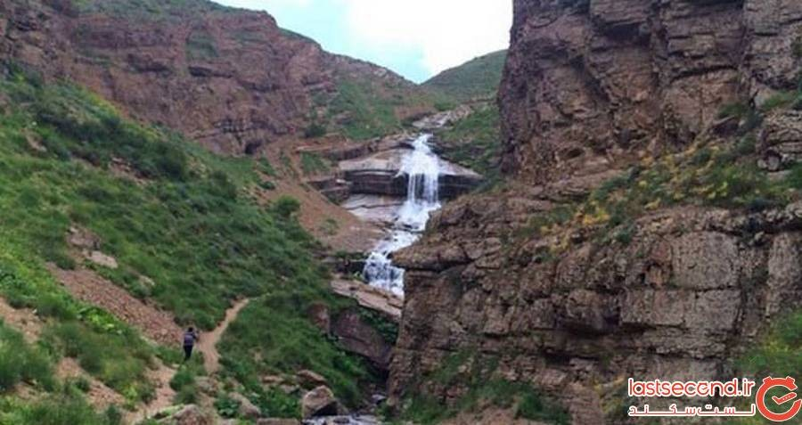 کوهره، بلندترین آبشار ایران در قلب آمل