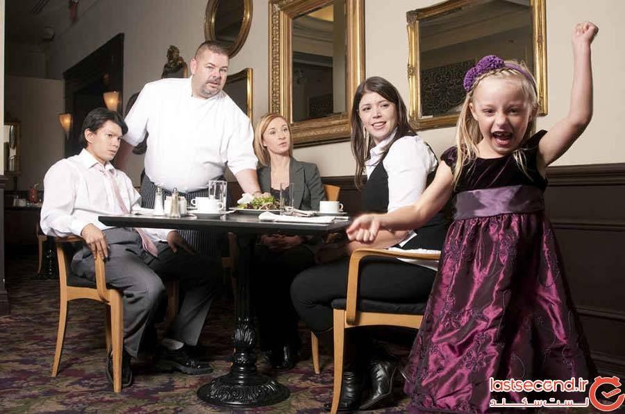 خانواده در رستوران