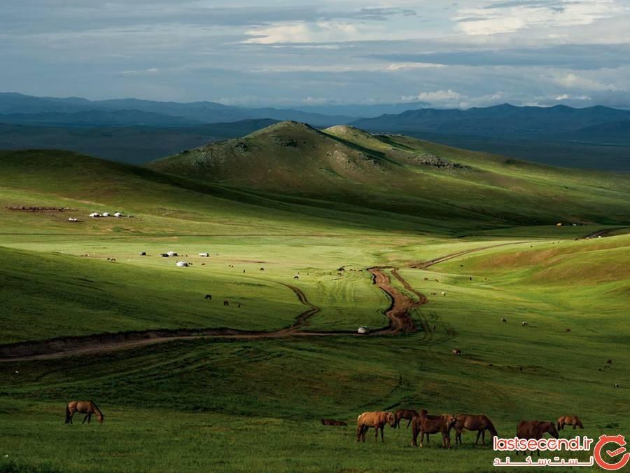 طبیعت مغولستان