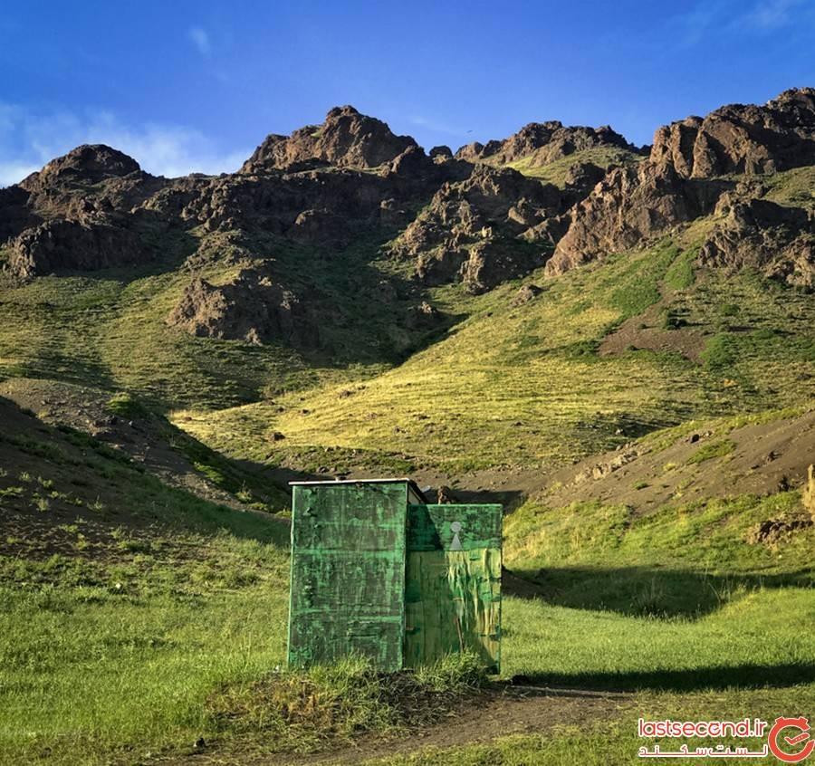 سرویس بهداشتی در مغولستان