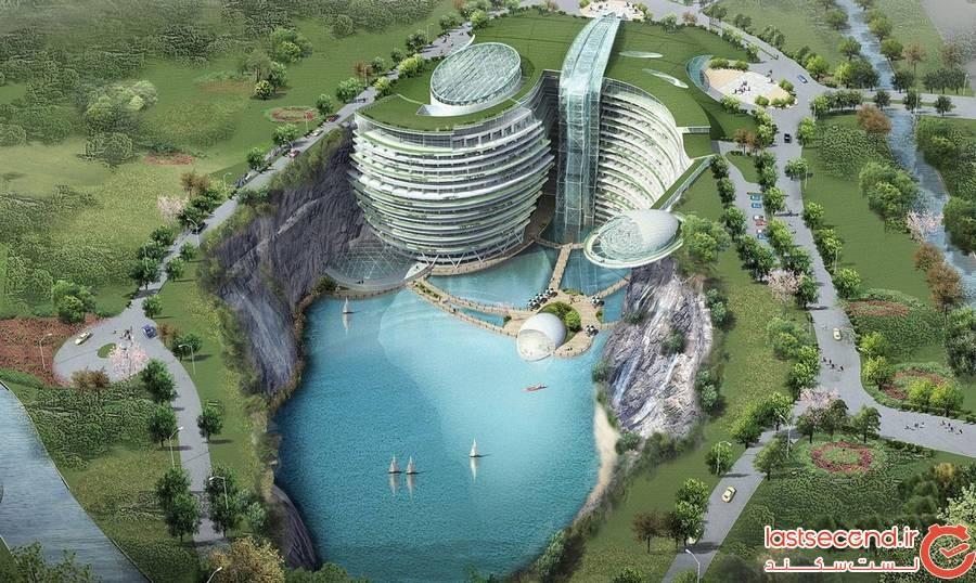 هتل گودالی چین