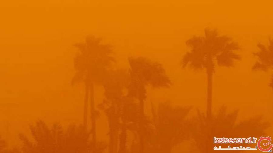 آلودگی هوای زابل