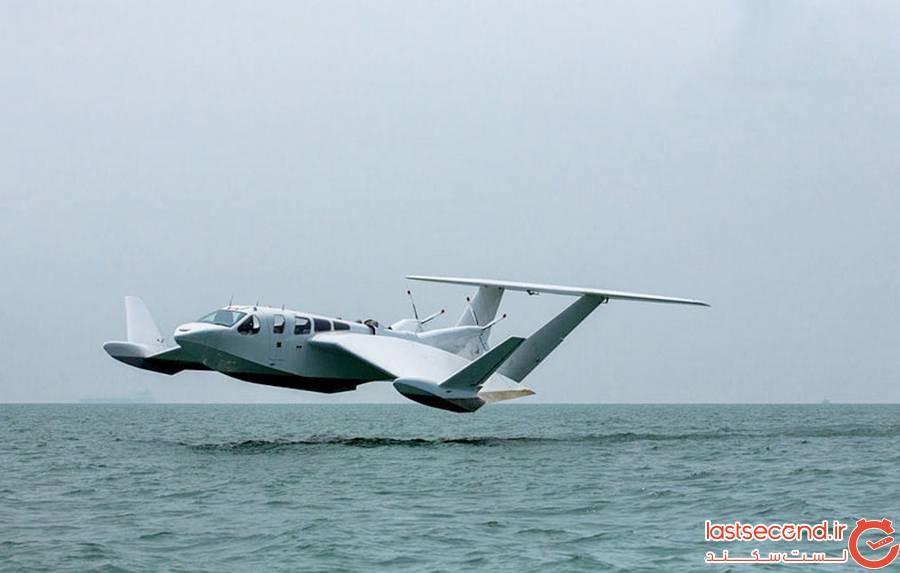 هواپیمای محرک روی آب