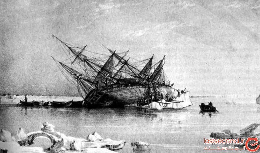 نتایج تحقیقات جدید درباره خدمه دو کشتی بریتانیایی