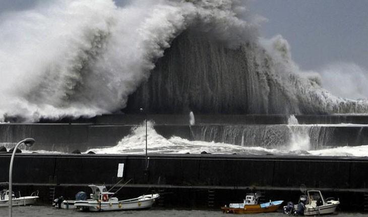طوفان جبی وارد ژاپن شد!