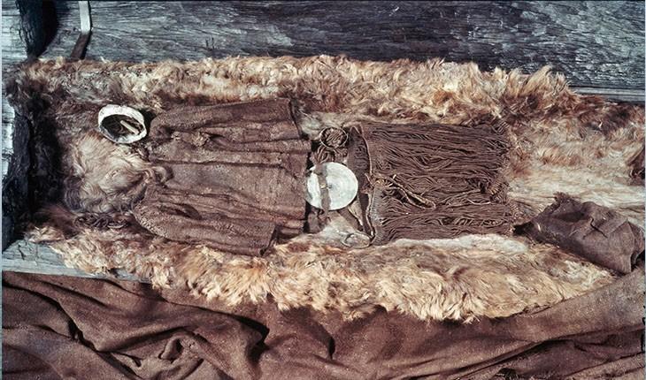 جسد ماقبل تاریخ دختر دانمارکی کشف شد
