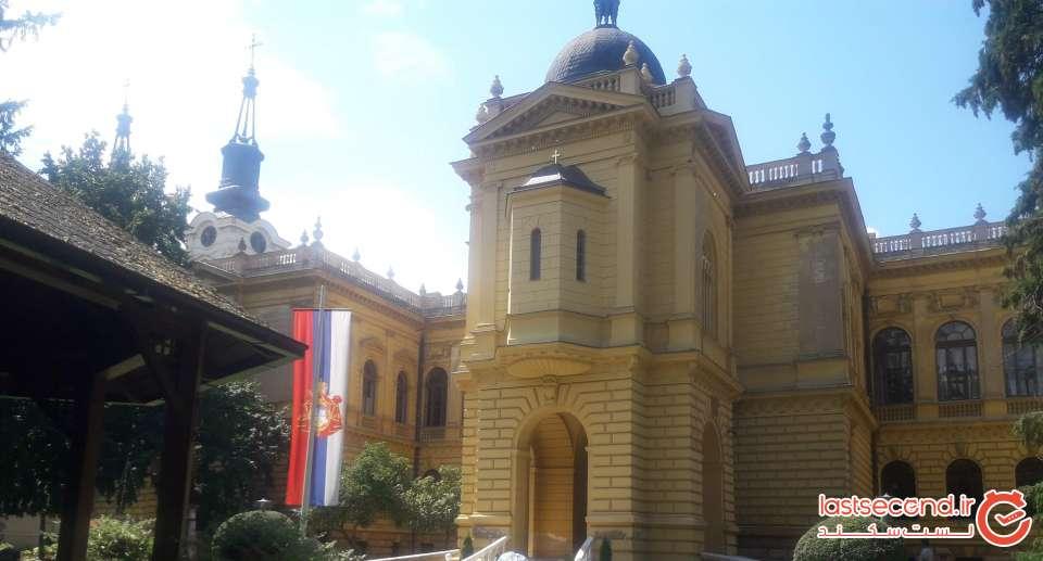 محوطه پشتی کلیسای سنت نیکلا