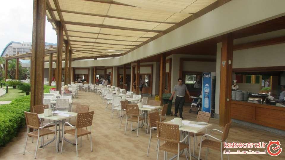 اسنک بار لی استخر هتل بایا لارا