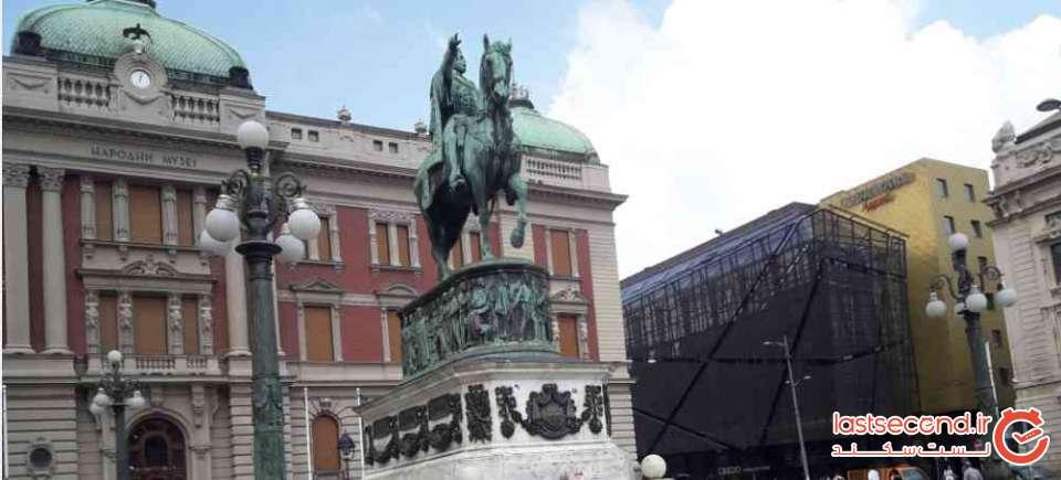 مجسمه شاهزادهMihailo Obrenović