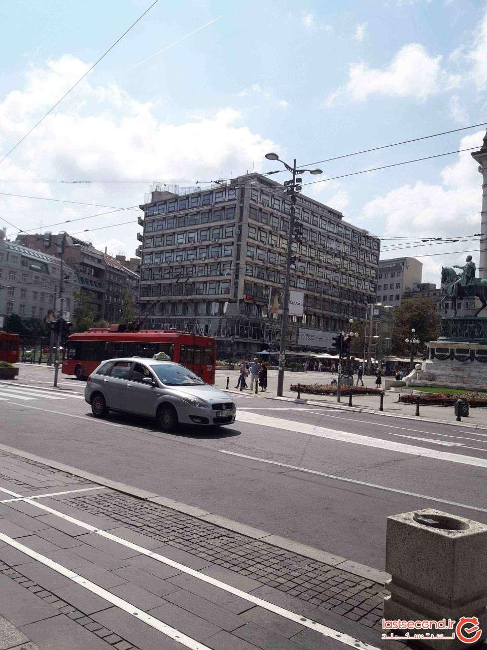 حمل و نقل عمومی بلگراد