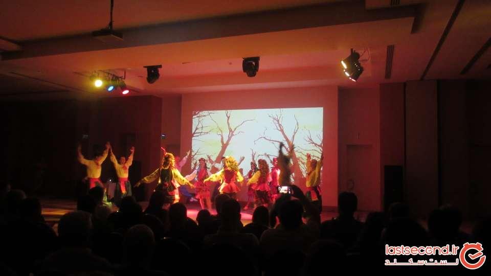 مراسم شب ترکی