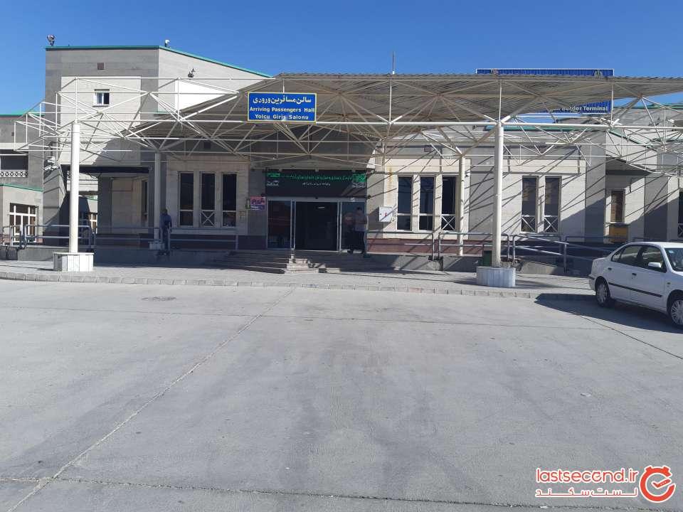 پارکینگ مرز بازرگان ایران