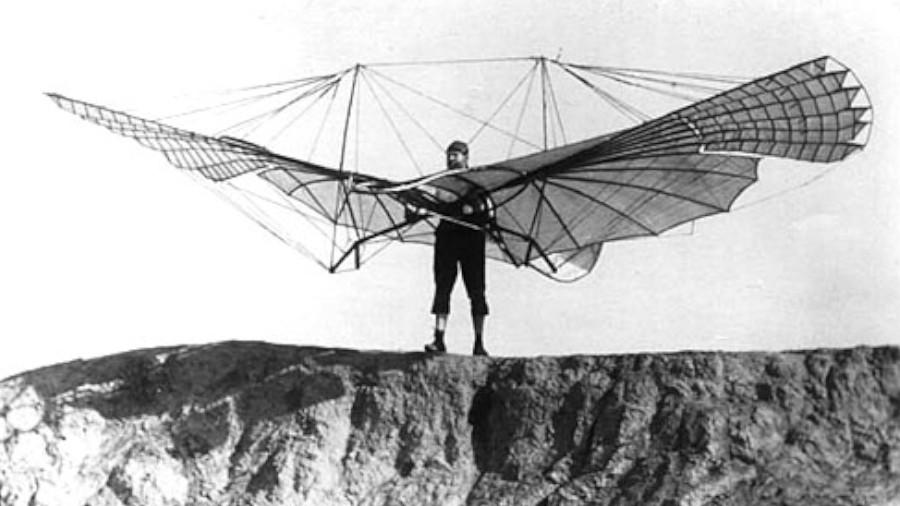 تلاش های اولیه انسان برای پرواز