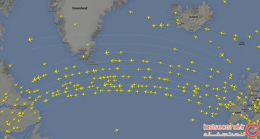 مسیرهای هوایی
