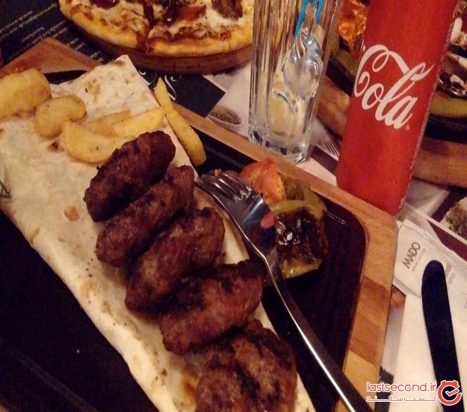 کوفته خوشمزه رستوران مادو