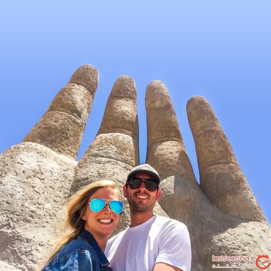 صخره دست در شیلی