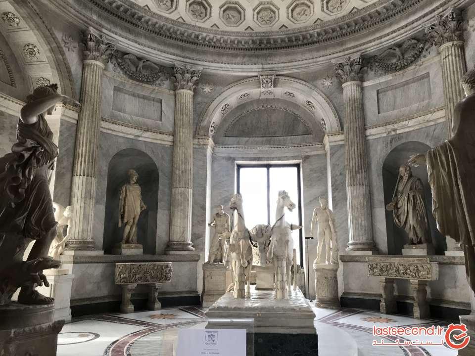 بخش مجسمه های موزه واتیکان