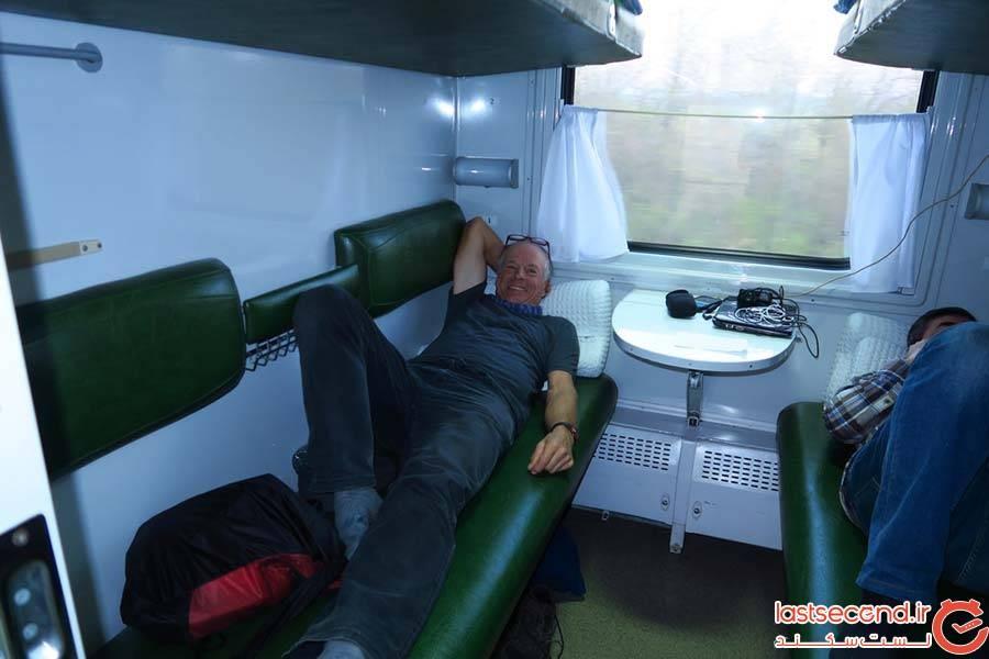 سفر ریلی از باکو به تفلیس