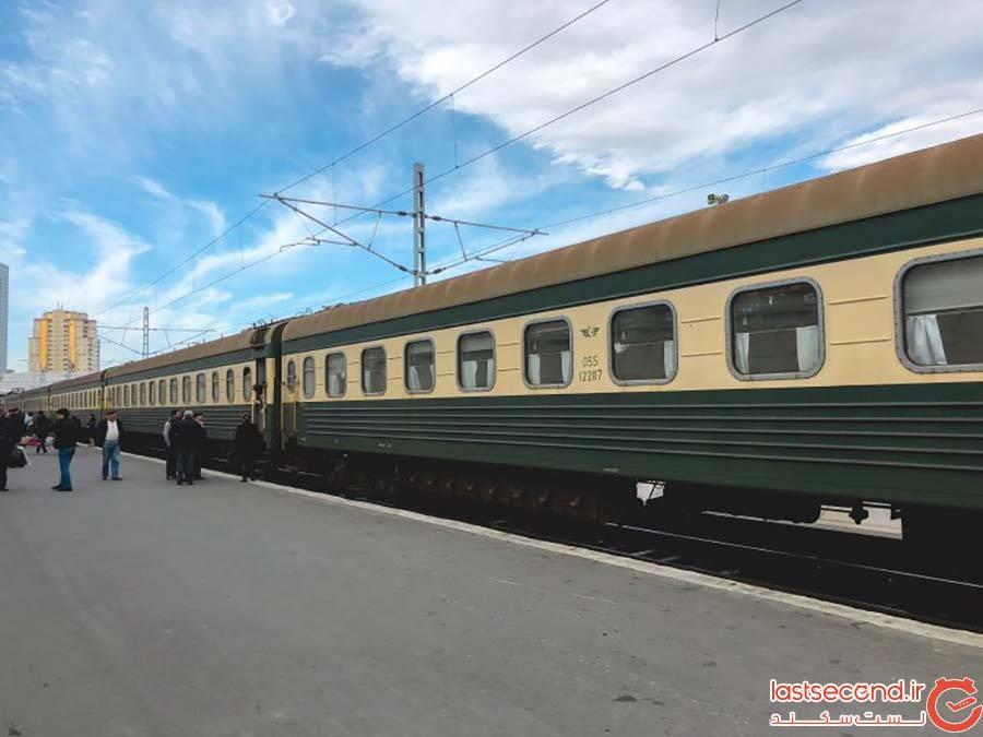 سفر ریلی از تفلیس به باکو