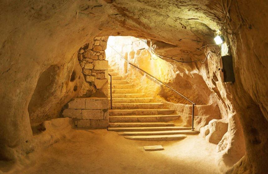 Noushabad Underground City