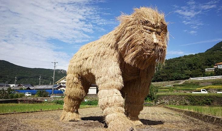 جشنواره مجسمه های کاهی در ژاپن
